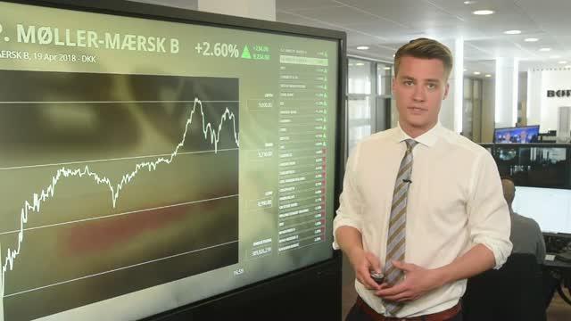Mærsk til tops i rødt marked - Bavarian tilbage i taber-rolle