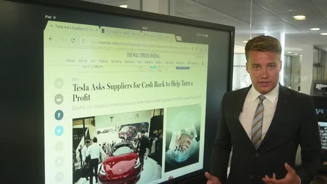 Verden rundt: Tesla beder leverandører om penge tilbage