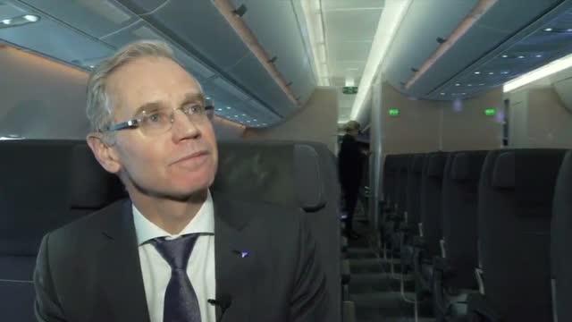 SAS' topdirektør viser millardinvestering frem: Det er klart at jeg er nervøs