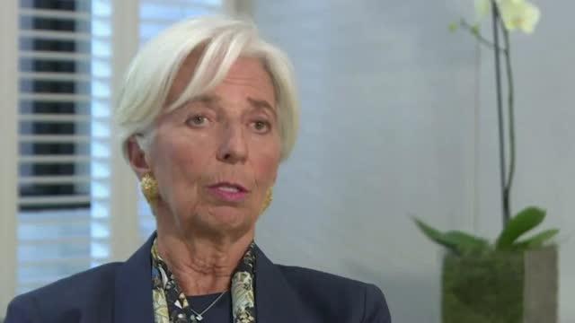 Aktiechef: Markedet vil i eftermiddag teste Christine Lagarde