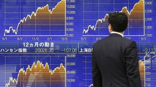 Aktier: Stigninger på Wall Street fortsætter i Asien
