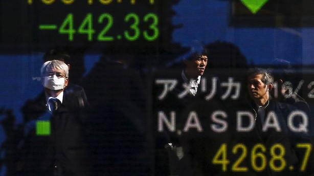 Aktier: Blandede asiatiske markeder efter Wall Street fald
