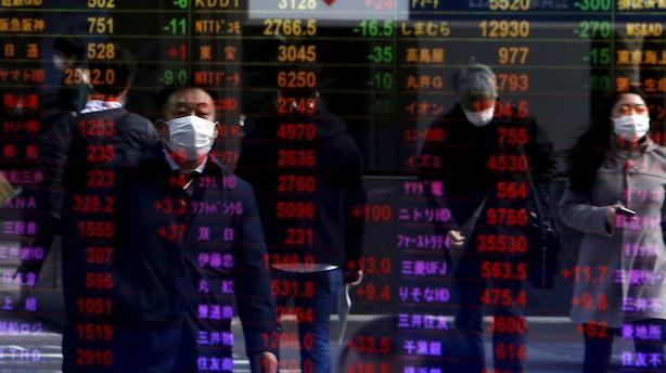 Aktier: Næsten stilstand på asiatiske markeder