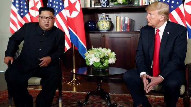 Mens  du sov: Kim Jong-un inviterer Trump til Nordkorea