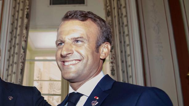 Macron skal sende budskab til Iran fra G7-topmøde
