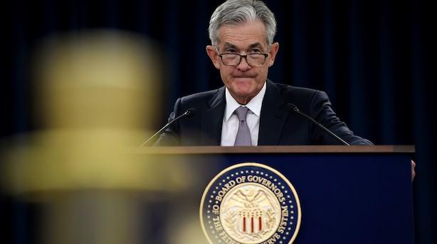 """Fed-chef: """"Udsigterne er fortsat positive trods modsatrettede vinde"""""""