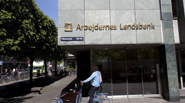 Arbejdernes Landsbank opjusterer: Forventer nu 75 mio. kr mere på bundlinjen