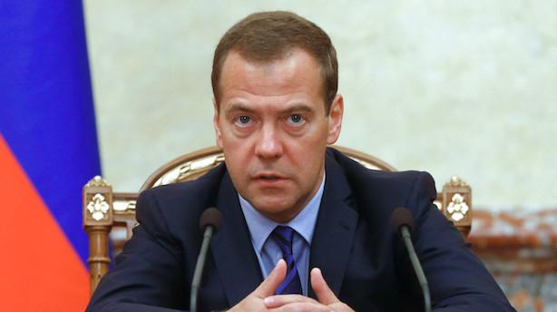 Putins planer får Ruslands regering til at trække sig