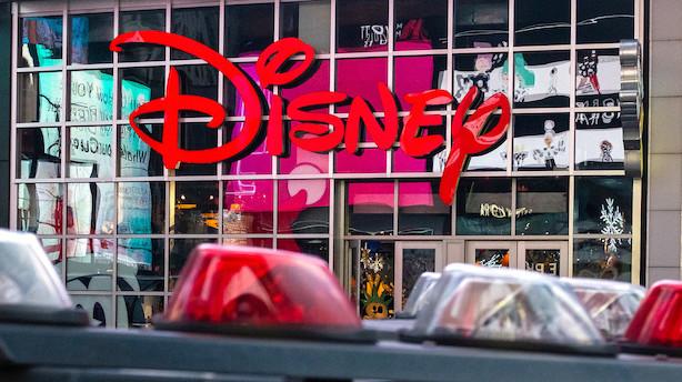 Disneys streamingtjeneste kommer til Danmark
