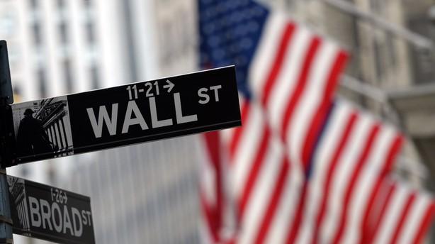 USA: Aktierne kryber op igen efter mandagens fald