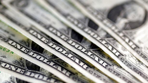 Valuta: Dollar presses i baggrunden af Feds mødereferat