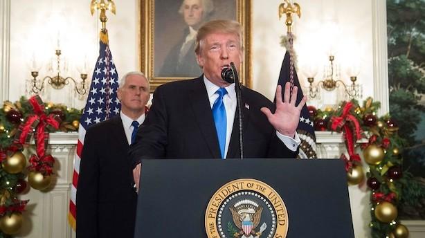 FN's Sikkerhedsråd holder hastemøde efter Trumps Jerusalem-udmelding