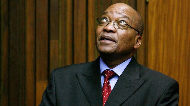 Det sker i dag: Trækker Sydafrikas præsident sig?
