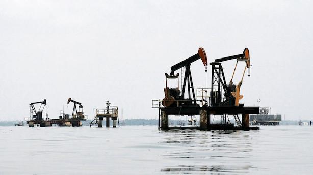 Råvarer: Risiko for konflikt i olielande holder olieprisen oppe
