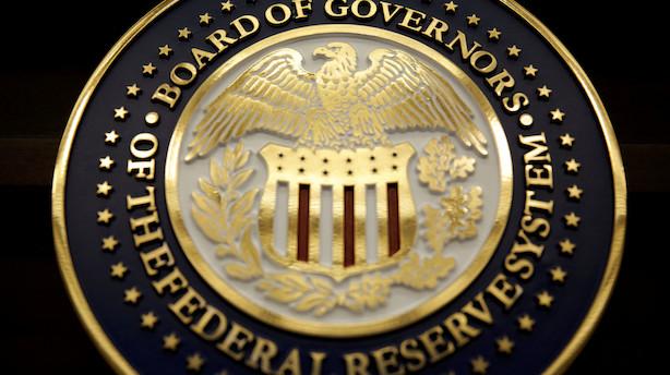 """USA's centralbank lover """"betydeligt"""" større balance end før finanskrisen"""