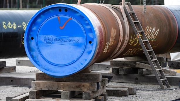 Ny udvikling i gasdrama: Energistyrelsen anmoder om ny rute for Nord Stream 2