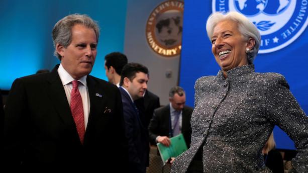 IMF får midlertidig chef med nominering af Lagarde til EU-post