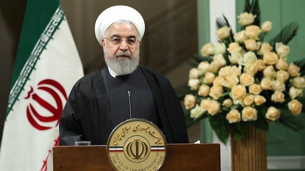 Iran påtager sig ansvar efter flystyrt - flere er anholdt