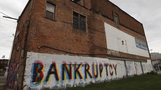 Detroit går konkurs