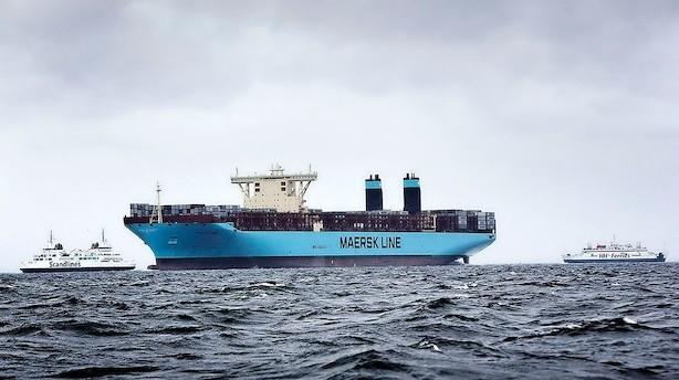 Aktier: Mærsk og DSV blev trukket ned af ulmende handelskrig
