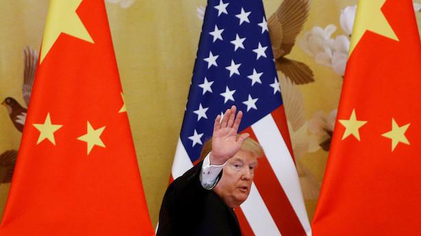 Medie: Mandag optrapper Trump USA's toldstrid med Kina