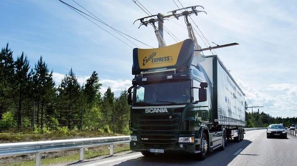 Her kører lastbilen på strøm: Snart kan det blive virkelighed på danske veje