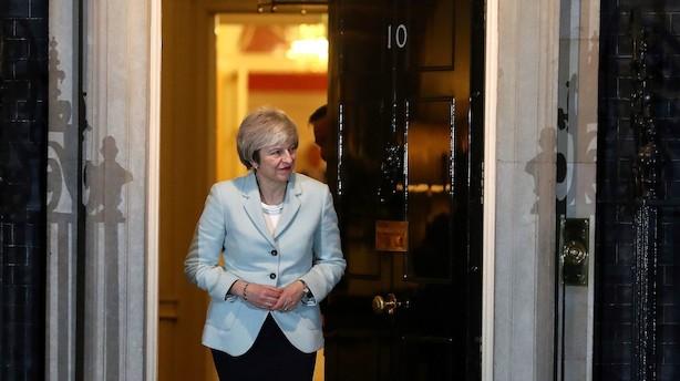 Analyse: May lægger op til brexit-drama i allersidste øjeblik i marts
