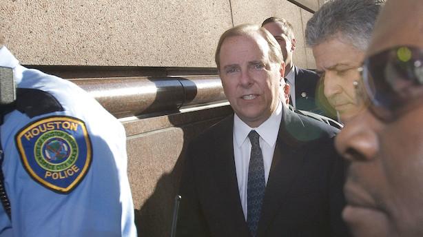 Hovedpersonen i Enron-skandalen er atter en fri mand