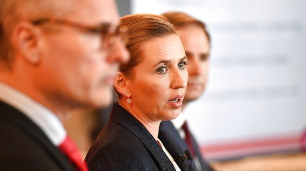 Mette F vil banke udgifterne op med 37 mia kr i 2025