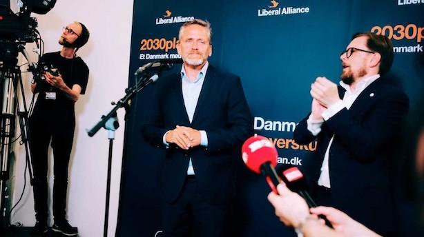 Anders Samuelsen og Joachim B. Olsen er færdige i Folketinget