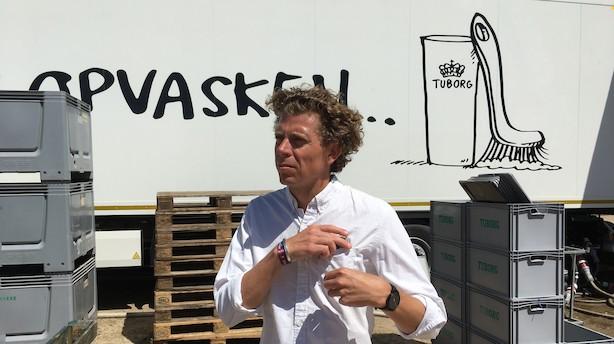 """Tuborg investerer millioner i bæredygtighed på Roskilde: """"Vi gør det ikke ud fra et pengespørgsmål, og det er ikke med provenu for øje"""""""