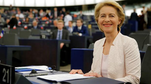 Kandidaten til EU's topjob i sin første store tale: Vil have klimaneutralitet i 2050 og 50 pct kvinder i EU-Kommissionen