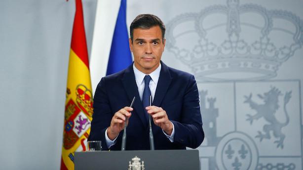 Spansk premierminister udskriver nyvalg