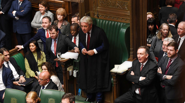 Johnsons brexit-aftale kommer ikke til afstemning