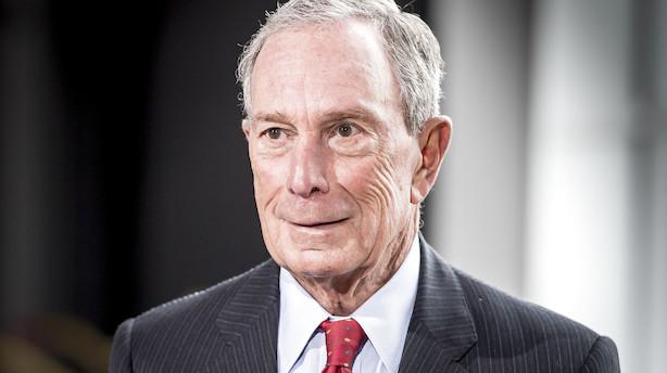Medie: Michael R. Bloomberg vil muligvis annoncere sit kandidatur som præsidentkandidat for Demokraterne denne weekend
