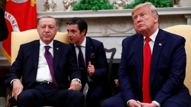 Trump hylder sit venskab med Erdogan