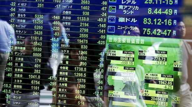 Aktier: Brede stigninger i næsten alle asiatiske markeder