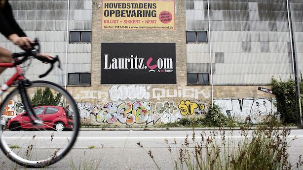 Det skriver medierne: Pengene fosser ud af Lauritz.com