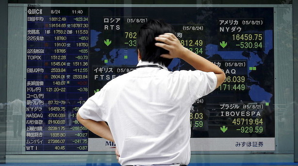 Aktier: Investorerne holder sig generelt tilbage i Asien