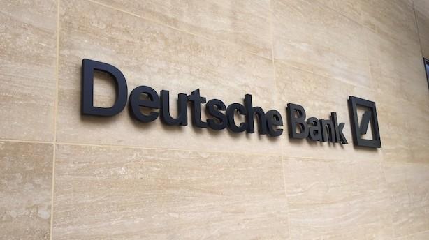 Deutsche Bank får milliardsøgsmål fra vrede investorer