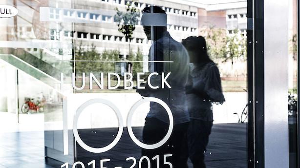 Mandagens aktier: Lundbeck endte i toppen på stille dag