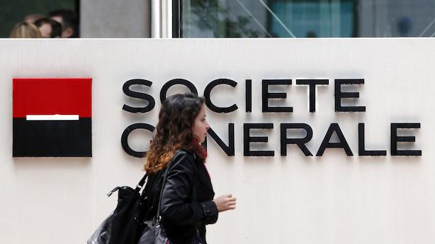 Fransk storbank planlægger nedskæringer efter massive fald i handelsindtægterne