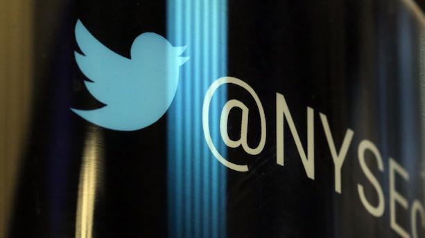 Aktier: Nervøst Wall Street falder - Twitter dykker med 10 pct