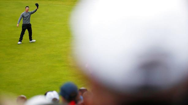 McIlroy forlader British Open med stolthed efter fiasko