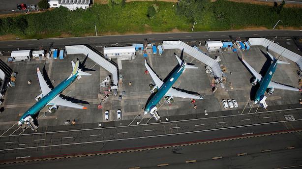 Aktieluk i USA: Blandet dag efter skuffende erhvervstillid - Boeing i top