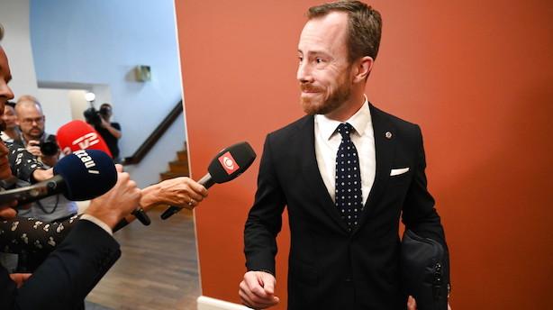 Gør klar til tronskifte i Venstre: Ellemann-Jensen går efter posten som formand