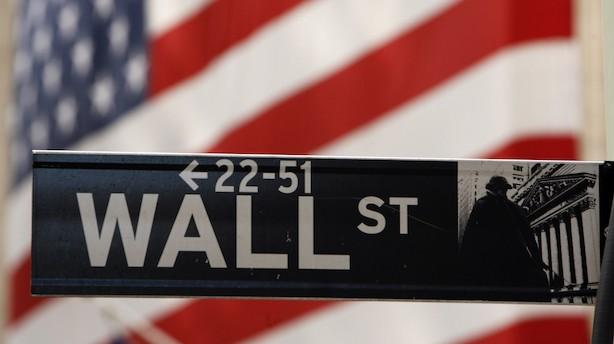 Wall Street gik på weekend med aktieplus og rentefald