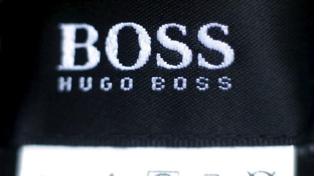 Rigmands pengetank afviser Hugo Boss-indkøb - aktien dykker