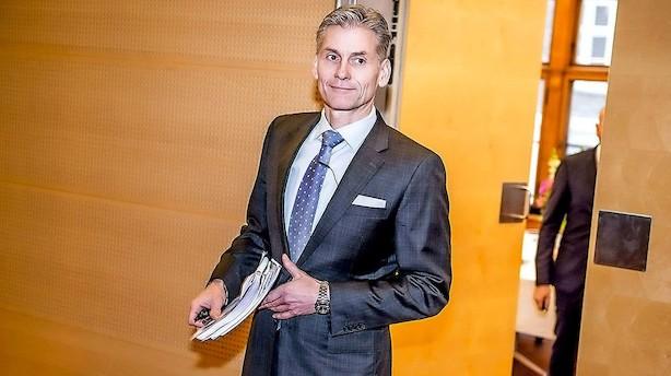 Aktier: Danske Bank trækker markedet frem
