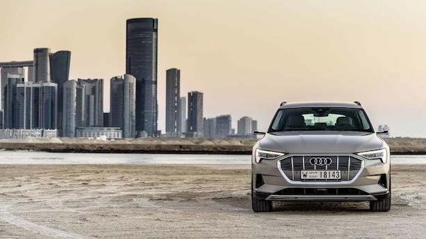 Første test af batteridrevet Audi e-tron: Tung, støjsvag og autoritær